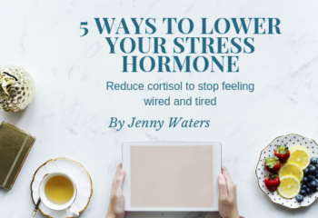 5 ways to lower your stress hormone