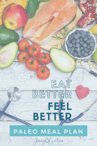 Eat Better Feel Better Paleo meal plan